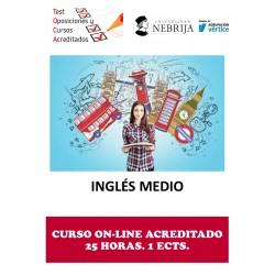 CURSO ACREDITADO INGLÉS MEDIO