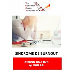 CURSO EL SÍNDROME DE BURNOUT