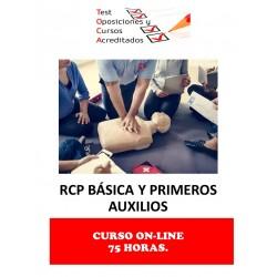 CURSO RCP BÁSICA Y PRIMEROS...