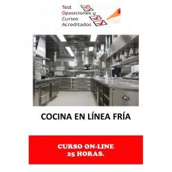 CURSO COCINA EN LÍNEA FRÍA