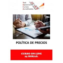 CURSO POLÍTICA DE PRECIOS