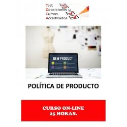 CURSO POLÍTICA DE PRODUCTO