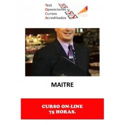 CURSO MAITRE