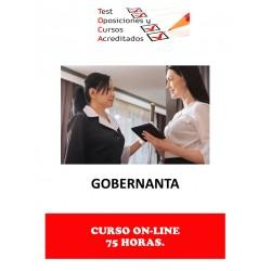 CURSO GOBERNANTA
