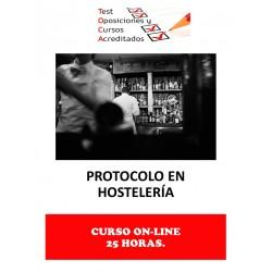 CURSO PROTOCOLO EN HOSTELERÍA