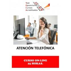 CURSO ATENCIÓN TELEFÓNICA