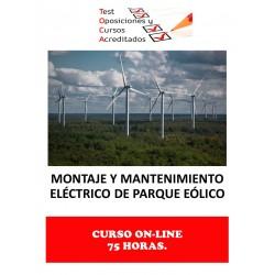 CURSO ACREDITADO MONTAJE Y...