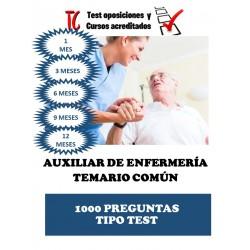 TEST OPOSICIONES AUXILIAR...