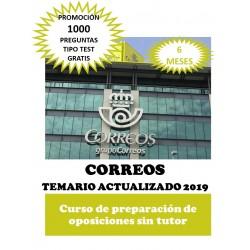 CORREOS. CURSO DE...