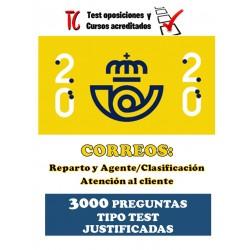 TEST OPOSICIONES CORREOS....
