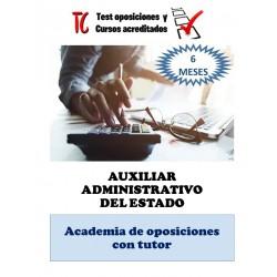 academia online auxiliar administrativo del estado temario completo