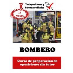 BOMBERO. CURSO DE...