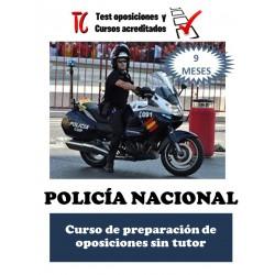 POLICÍA NACIONAL. CURSO DE...
