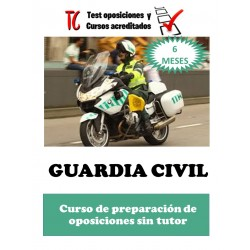 GUARDIA CIVIL. CURSO DE...