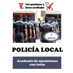 POLICÍA LOCAL. ACADEMIA DE...