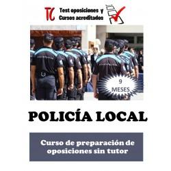 POLICÍA LOCAL. CURSO DE...