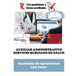 academia online oposiciones auxiliar administrativo servicio murciano de salud