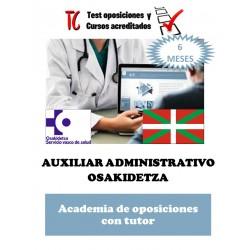 academia online oposiciones auxiliar administrativo osakidetza