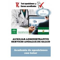 academia online oposiciones auxiliar administrativo servicio andaluz de salud