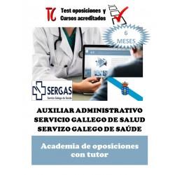 academia online oposiciones auxiliar administrativo servicio gallego de salud