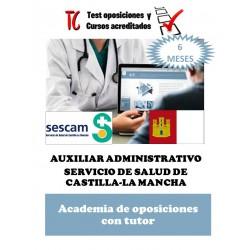 academia online oposiciones auxiliar administrativo servicio de salud de castilla la mancha