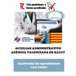 academia online oposiciones auxiliar administrativo servicio valenciano salud