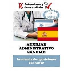 academia online oposiciones auxiliar administrativo sanidad