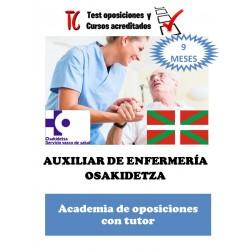 AUXILIAR DE ENFERMERÍA...
