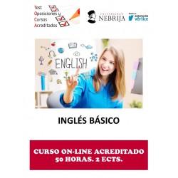 CURSO ACREDITADO INGLÉS BÁSICO